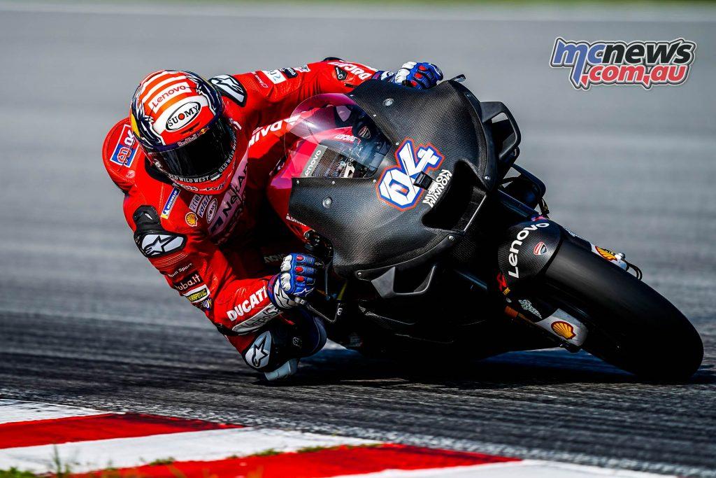 MotoGP Sepang Test Dovizioso