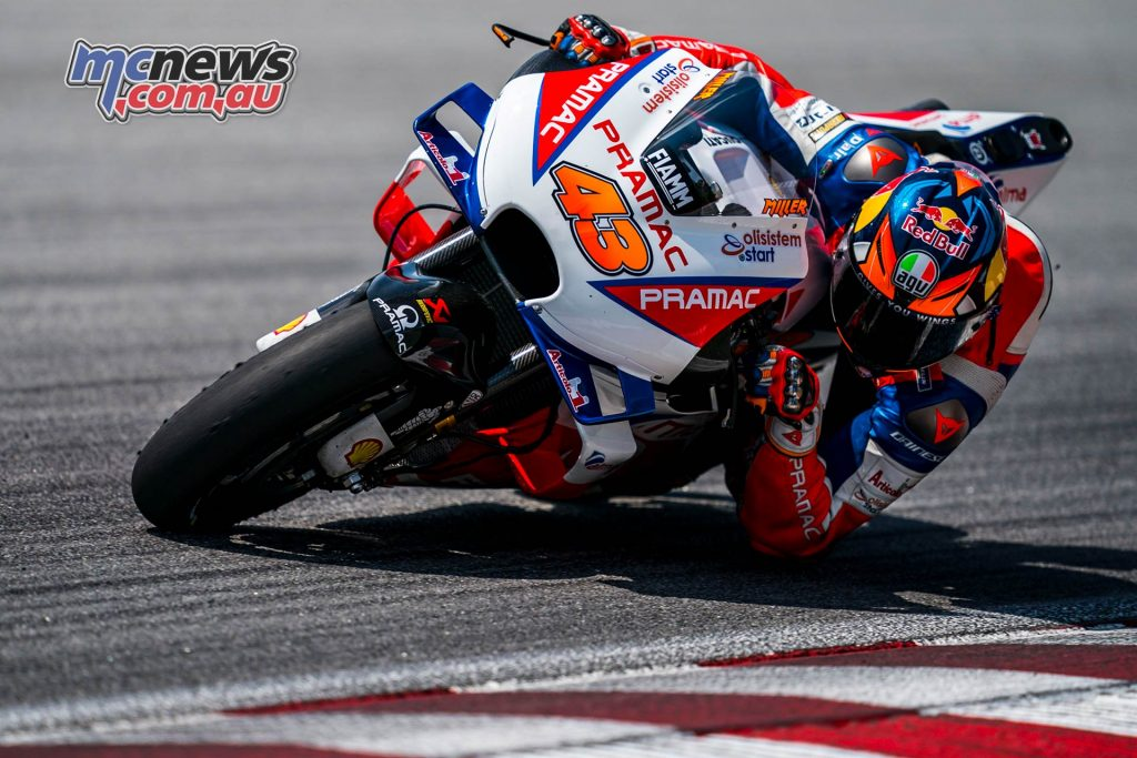 MotoGP Sepang Test Miller