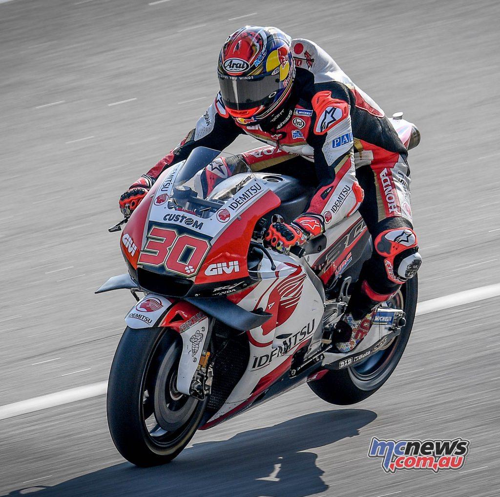 MotoGP Sepang Test Nakagami