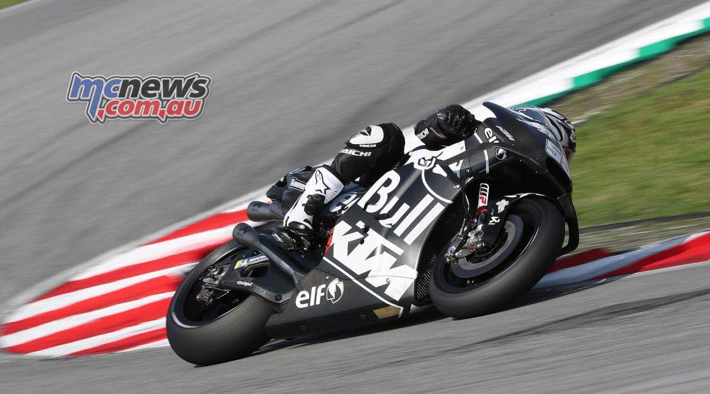 MotoGP Sepang Test Syahrin
