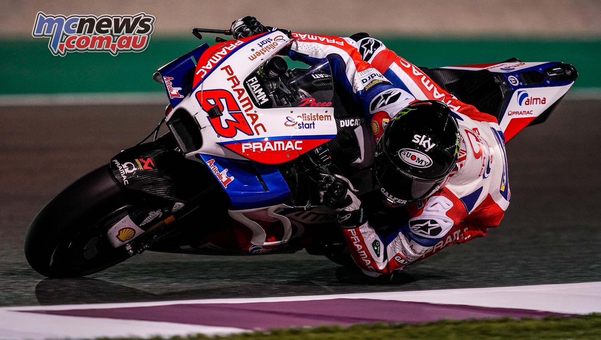 MotoGP Test Qatar Day Bagnaia
