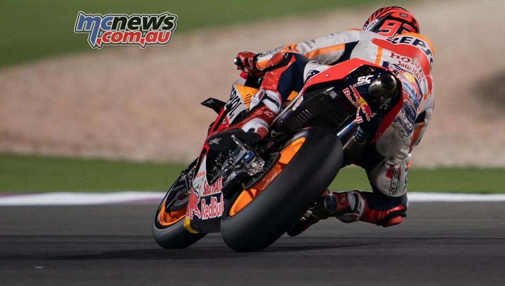 MotoGP Test Qatar Day Marc Marquez