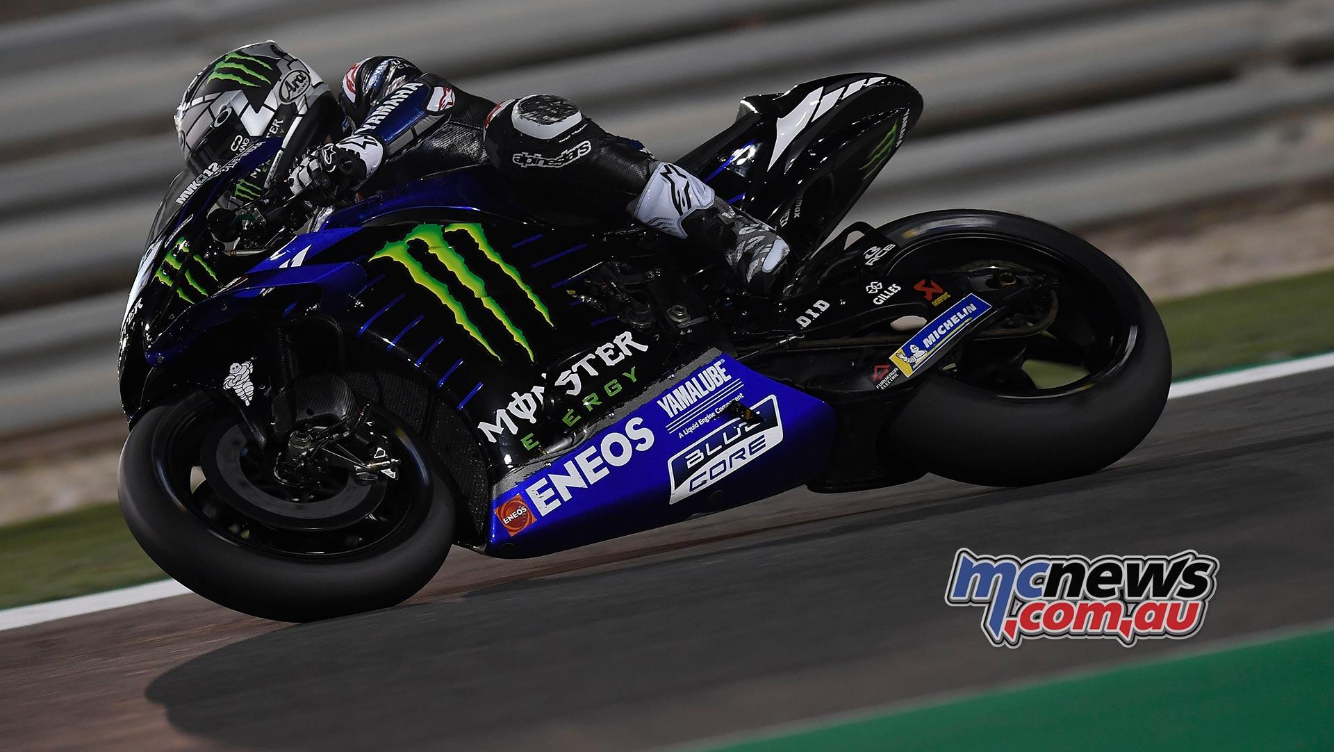 MotoGP Test Qatar Day Maverick Vinales