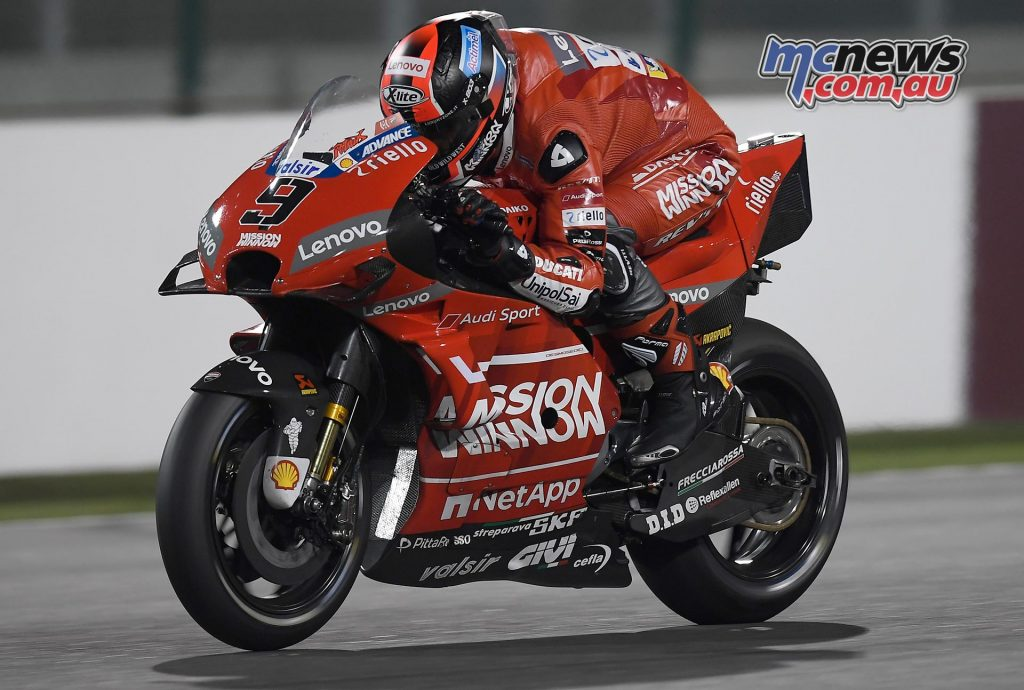 MotoGP Test Qatar Day Petrucci