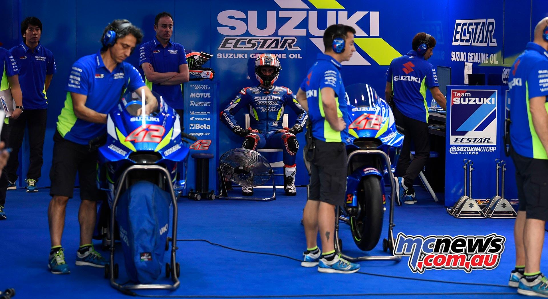 MotoGP Test Qatar Day Suzuki Rins