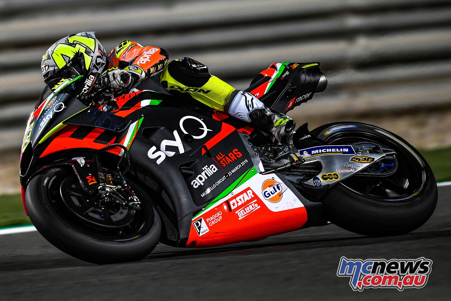 MotoGP Test Qatar Day Aleix Espargaro