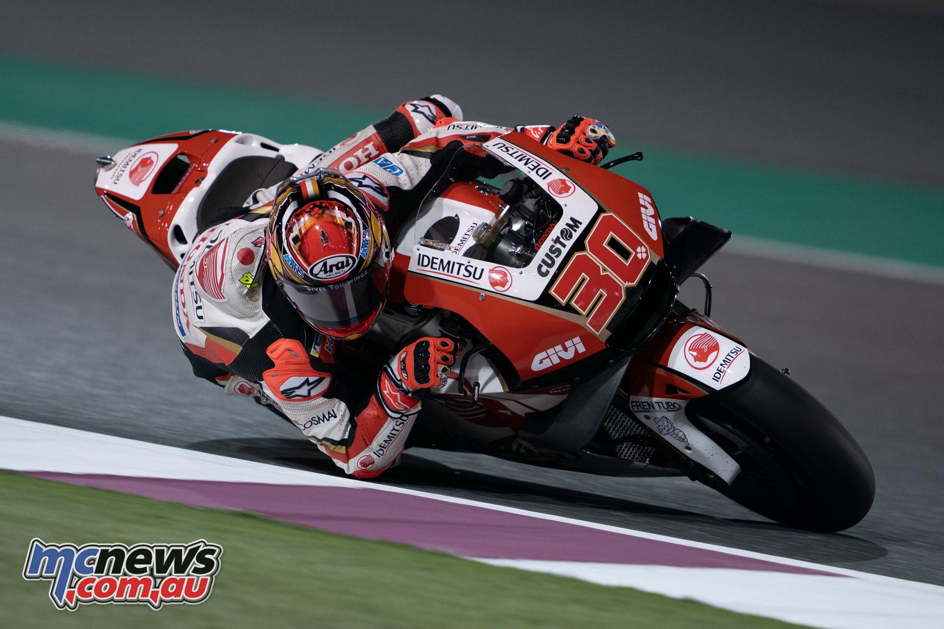MotoGP Test Qatar Day Nakagami