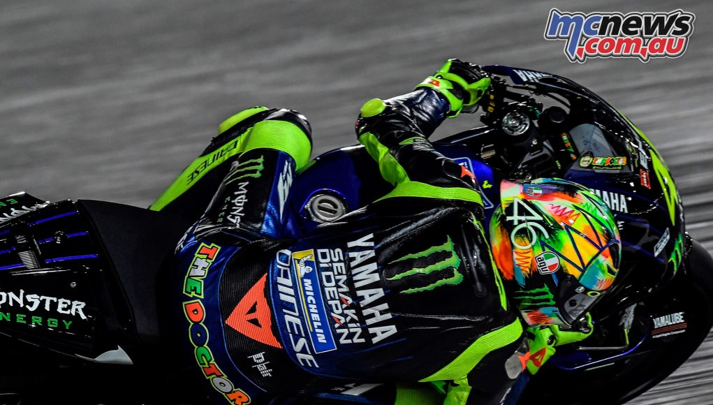 MotoGP Test Qatar Day Valentino Rossi