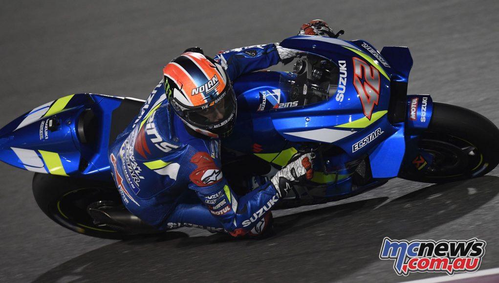 MotoGP Test Qatar Day alex rins f