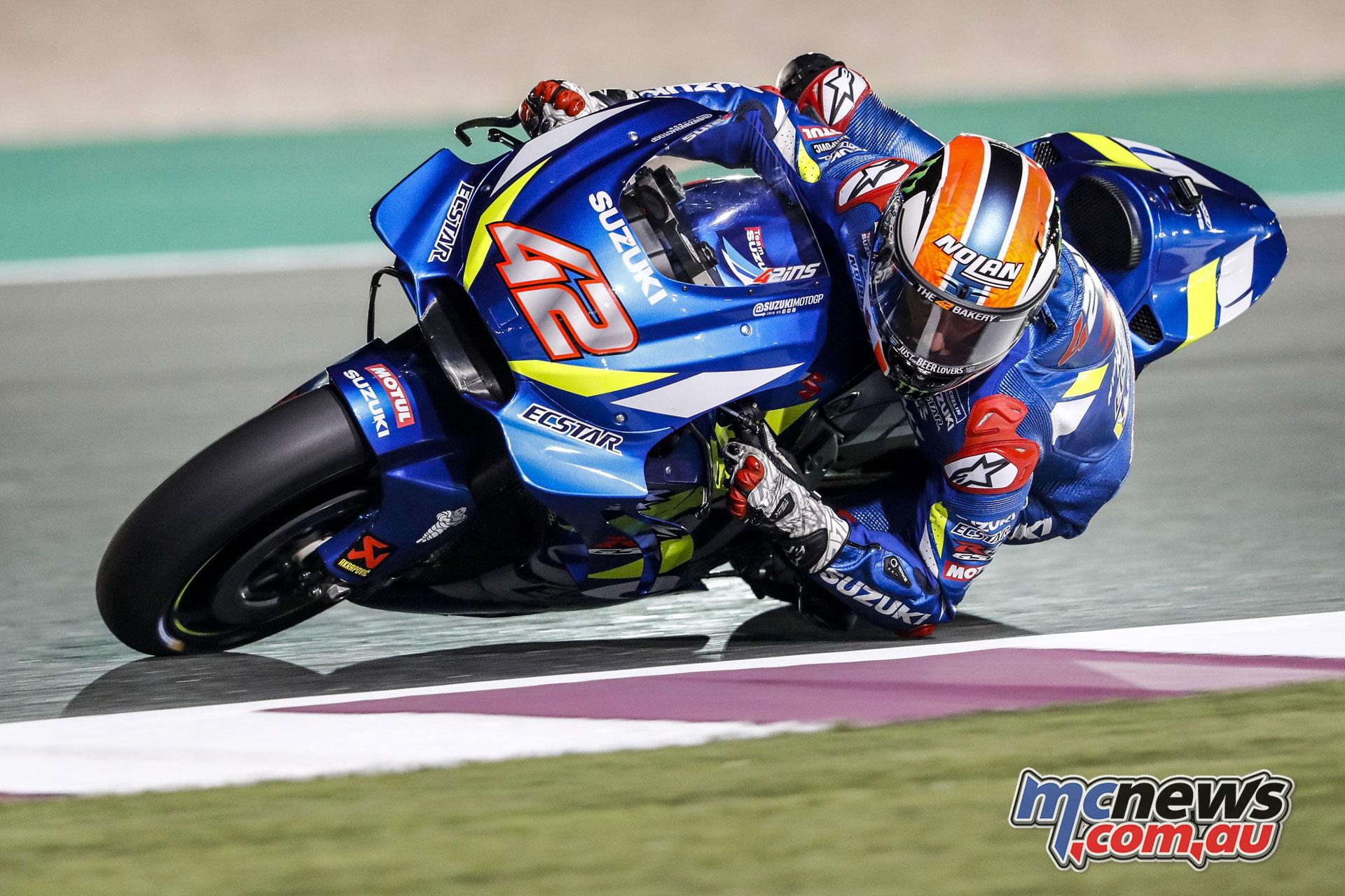 MotoGP Test Qatar Day alex rins