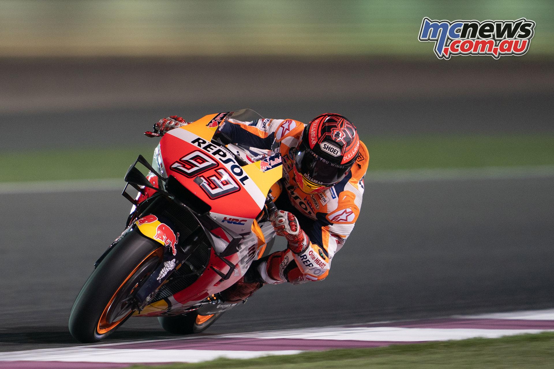 MotoGP Test Qatar Day marquez