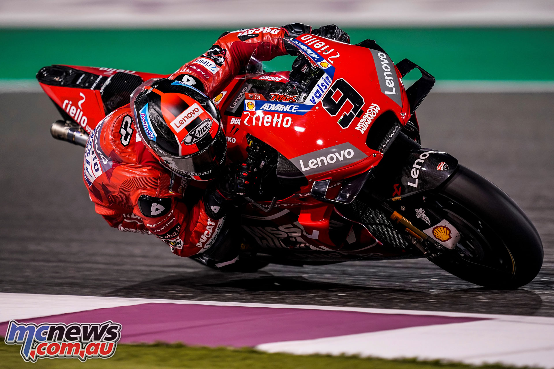 MotoGP Test Qatar Day petrucci UC
