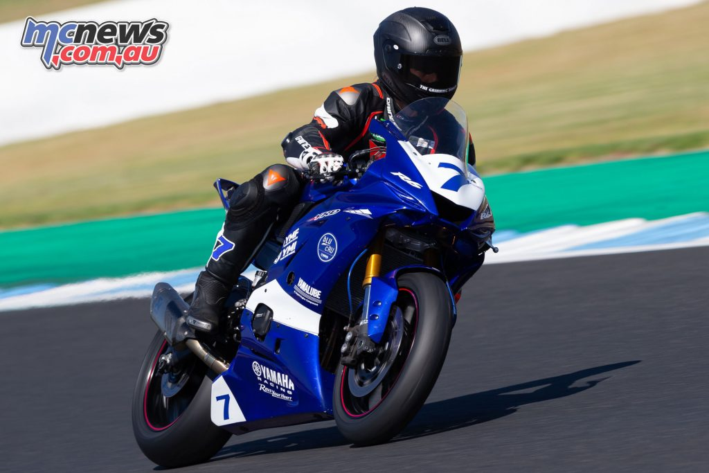 ASBK Test Phillip Island Feb Tom Toparis