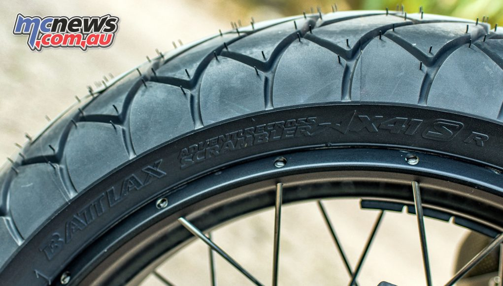 Bridgestone Battlax Adventurecross Scrambler AXS