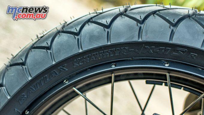 Bridgestone Battlax Adventurecross Scrambler AXS