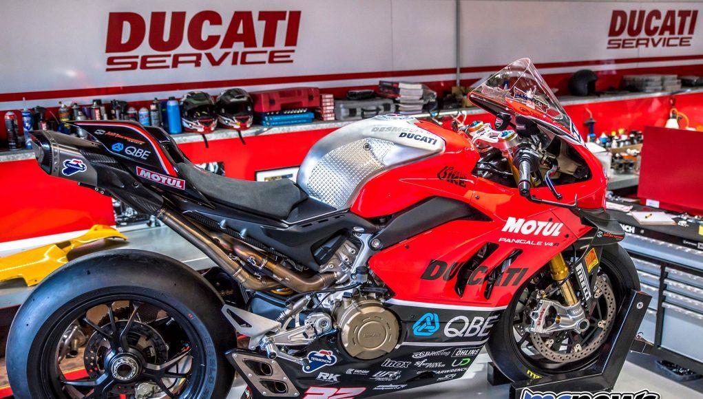 DesmoSport Ducati Panigale V R Troy Bayliss