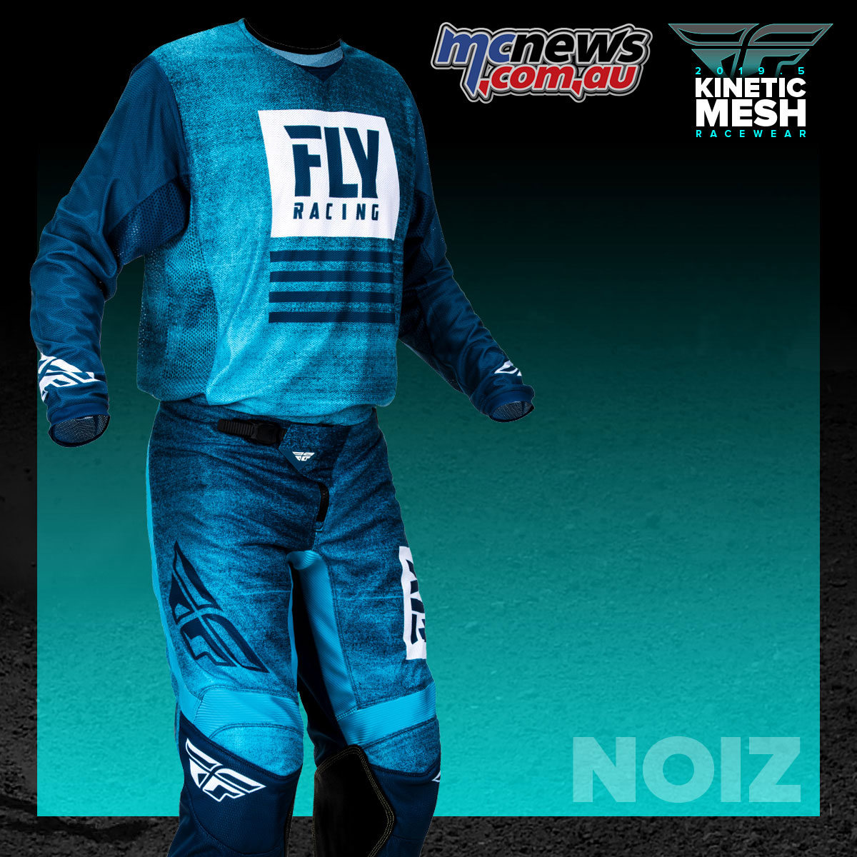Fly Racing Kinetic Mesh Racewear