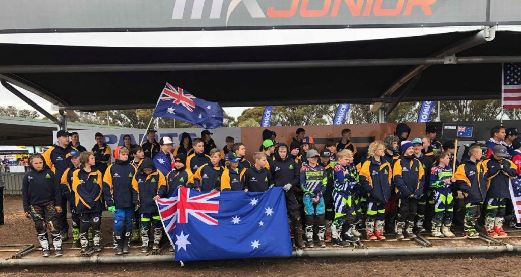 MX Juniors Australian team