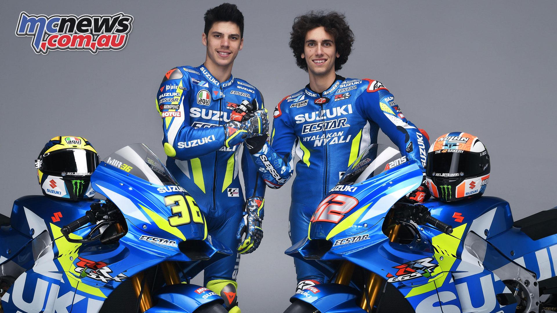 MotoGP Suzuki Ecstar Preview Joan Mir