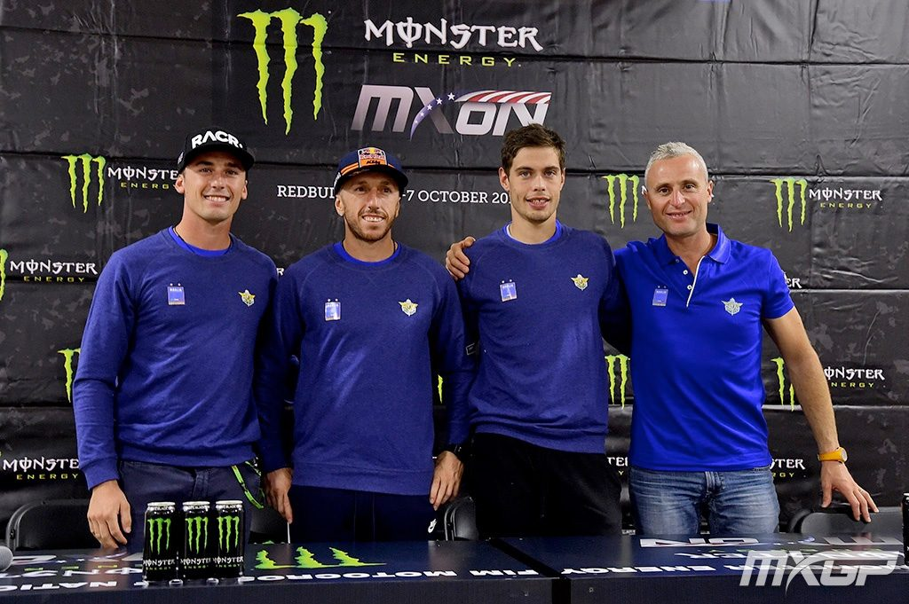 Team Italy was disqualified from the Motocross of Nations after Michele Crevellins machine failed a fuel test. Photo by Youthstream