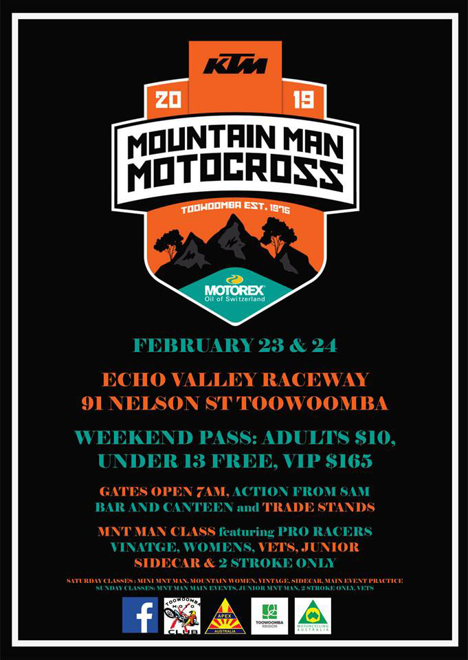 Toowoombas Mountin Man is only a few weeks away