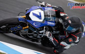 WSBK Phillip Island Official Test Mon FP WSSP Toparis GB F
