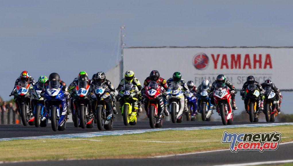 WSBK TBG WSBKPI PI SS Race Start TBG