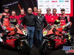 WorldSBK Aruba it Racing Ducati Team Presentation UC