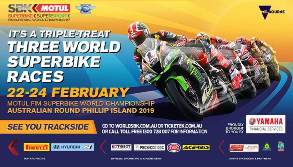 WorldSBK Australia Promo