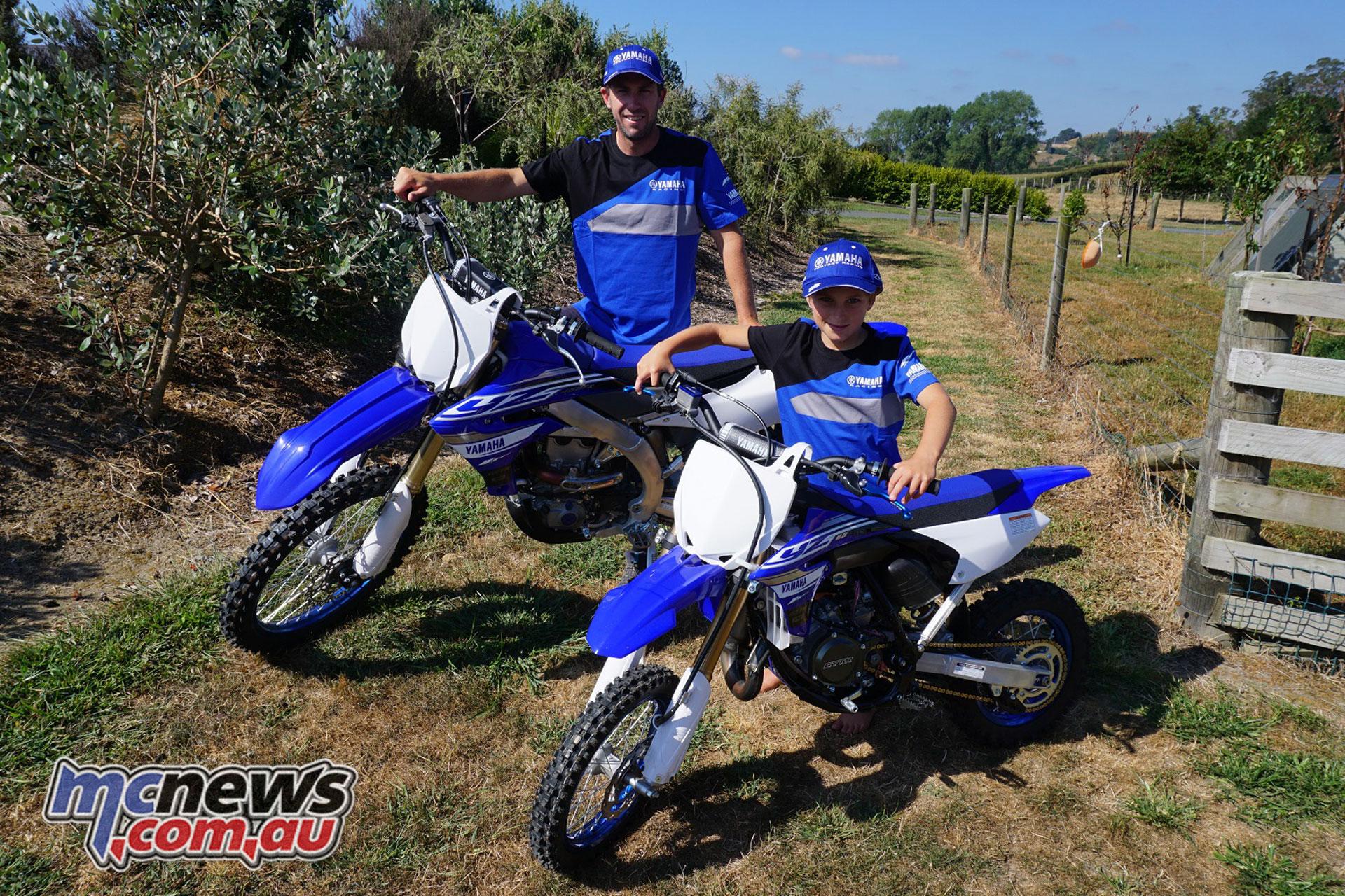 Yamaha Motor New Zealand Ben Townley Levi Townley