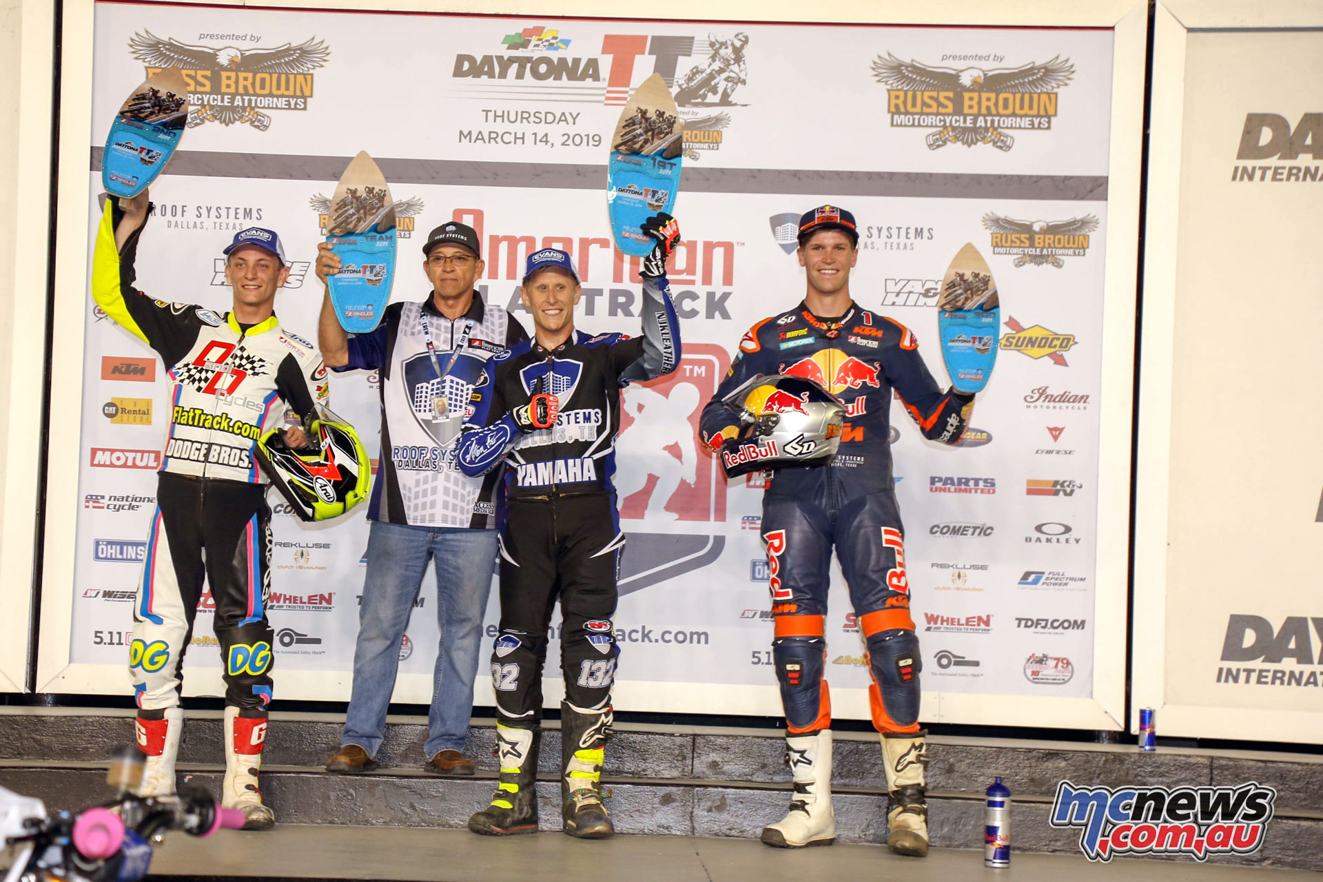 AFT Daytona TT Singles Podium ERV