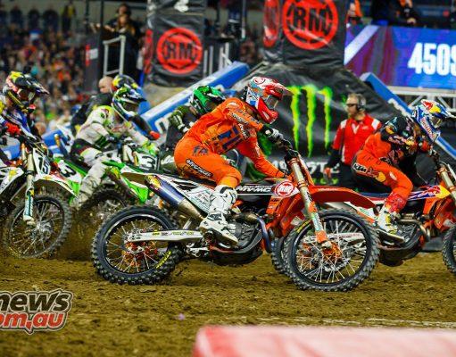 AMA SX Rnd Indy Starts JK SX Indy