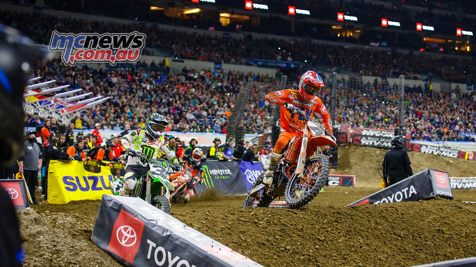 AMA SX Rnd Indy Baggett Tomac Multiple JK SX Indy