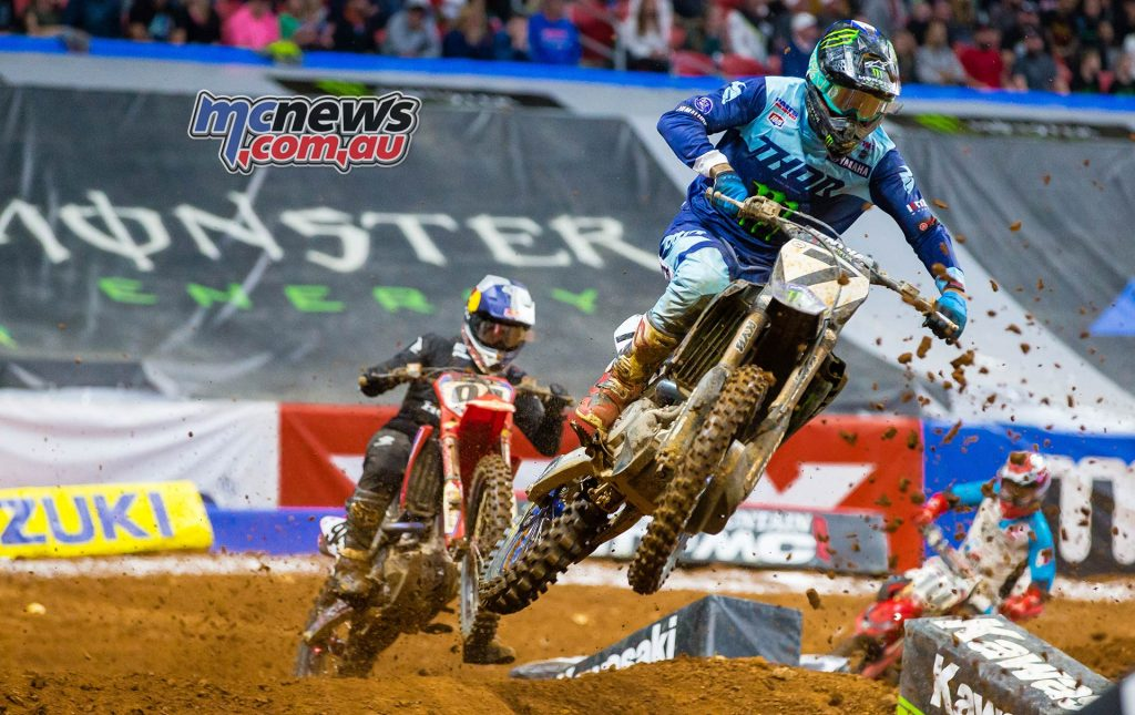AMA SX Rnd Atlanta Plessinger Roczen Multiple JK SX Atlanta