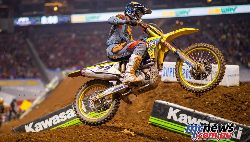 AMA SX Rnd Atlanta Reed JK SX Atlanta Cover
