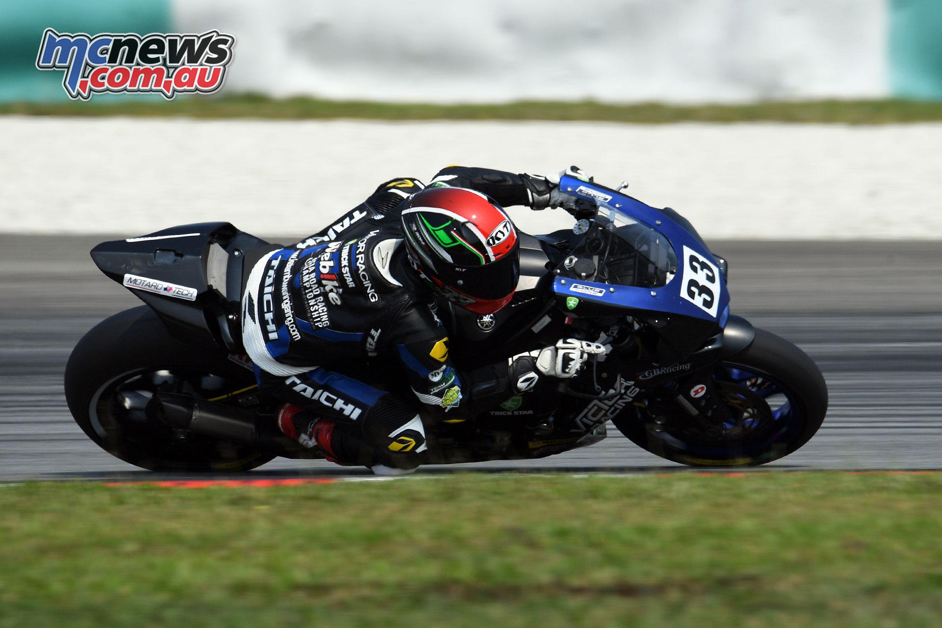 ARRC Rnd Ahmad Yudhistira Victor Racing ASB Race ARRC