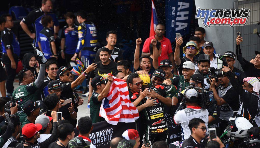 ARRC Rnd Azlan Shah ASB Winner Race ARRC Sepang