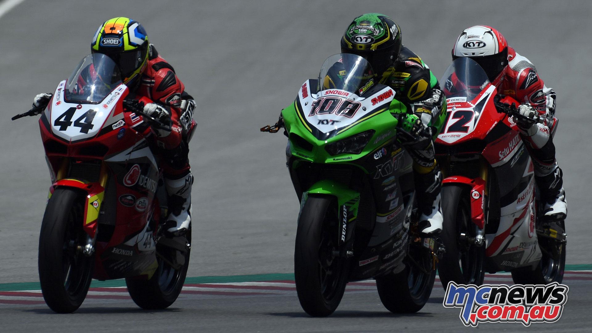 ARRC Rnd Muklada Sarapuech Andy Fadly Lucky Hendriasia AP Race ARRC Sepang