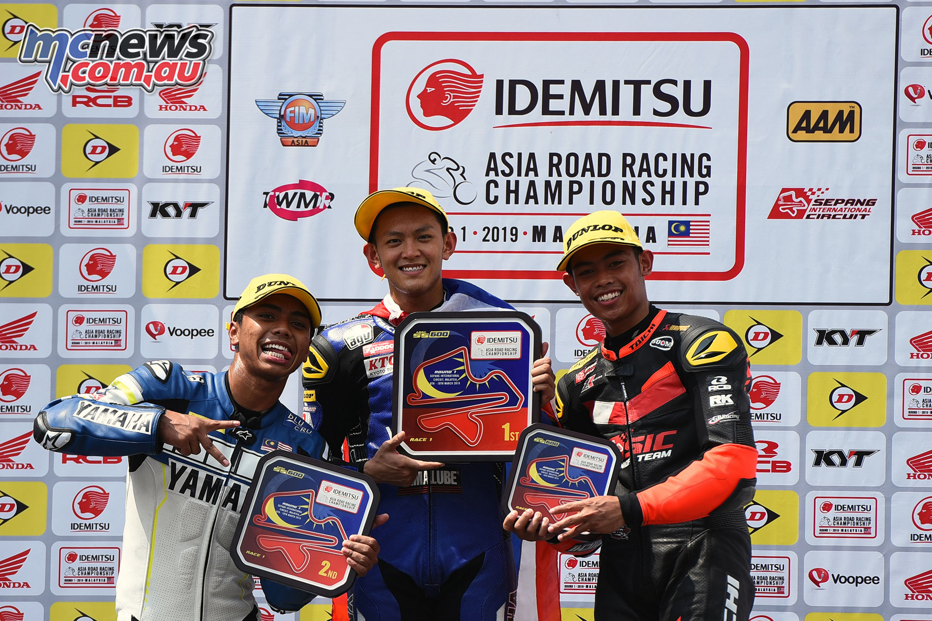ARRC Rnd Race Podium ARRC Sepang Copy