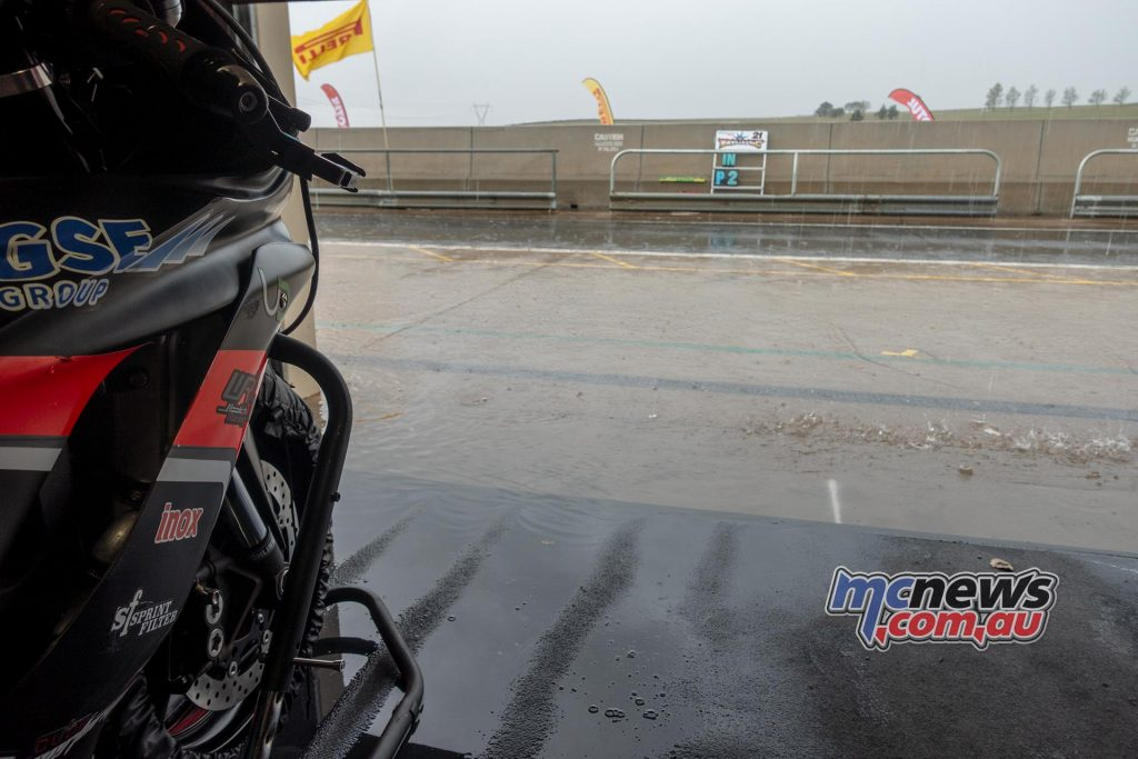 ASBK Wakefield Friday Wet