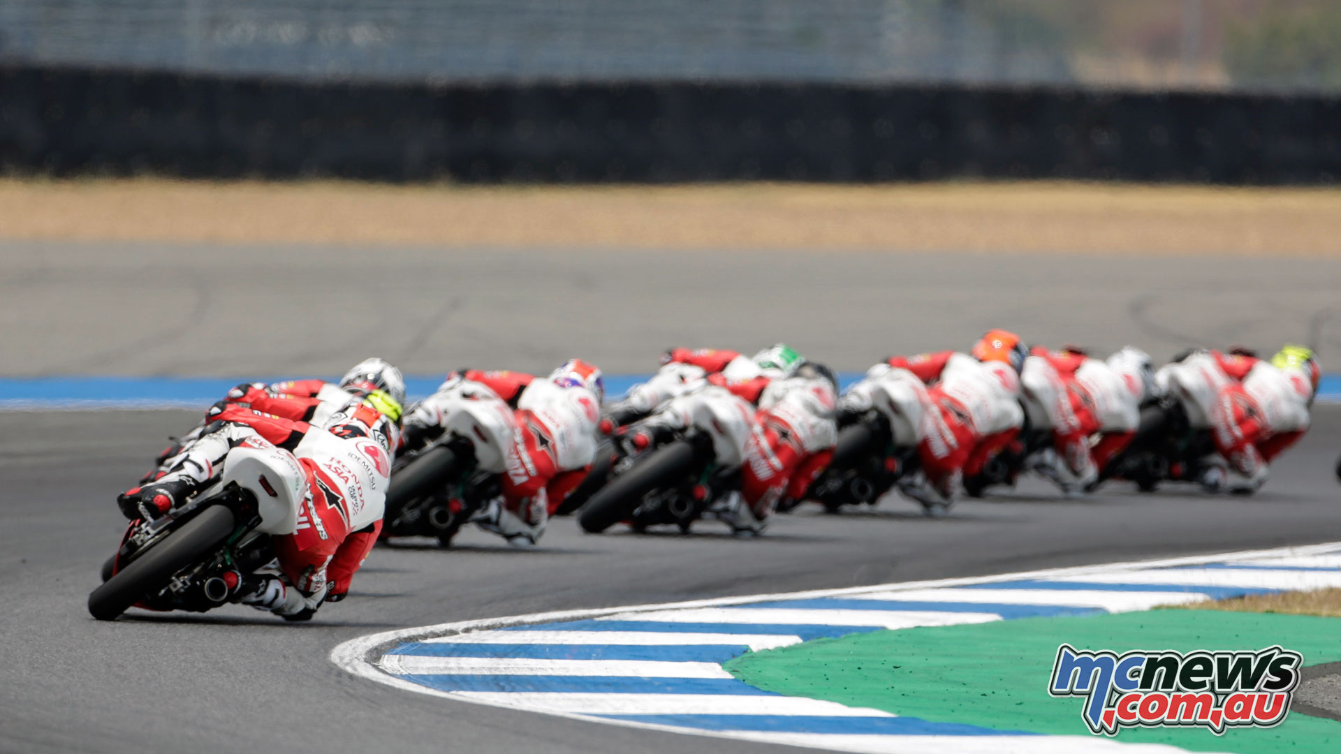 Asia Talent Cup Rnd Thailand Race field