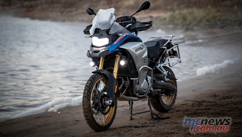 BMW F GS Adventure Blue LHF