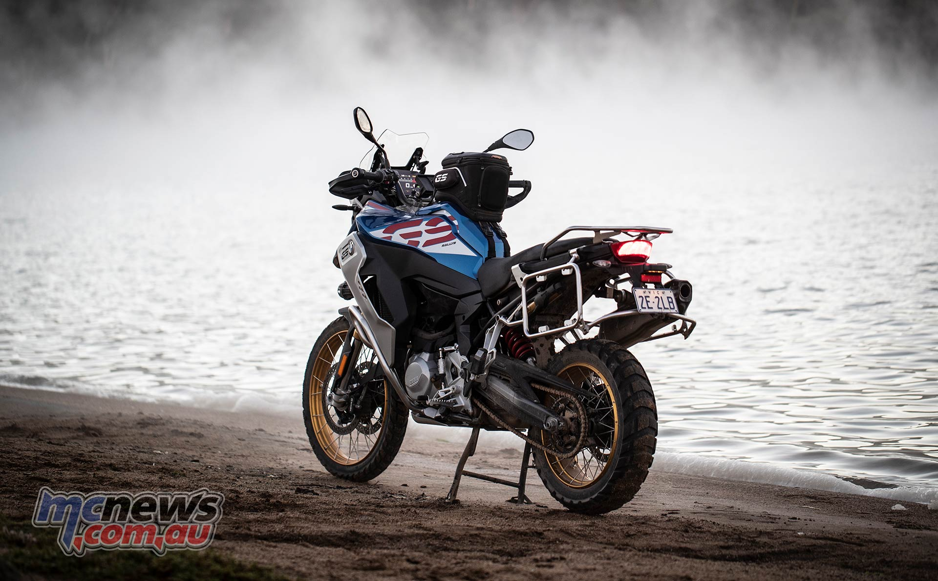 BMW F GS Adventure Blue LHR