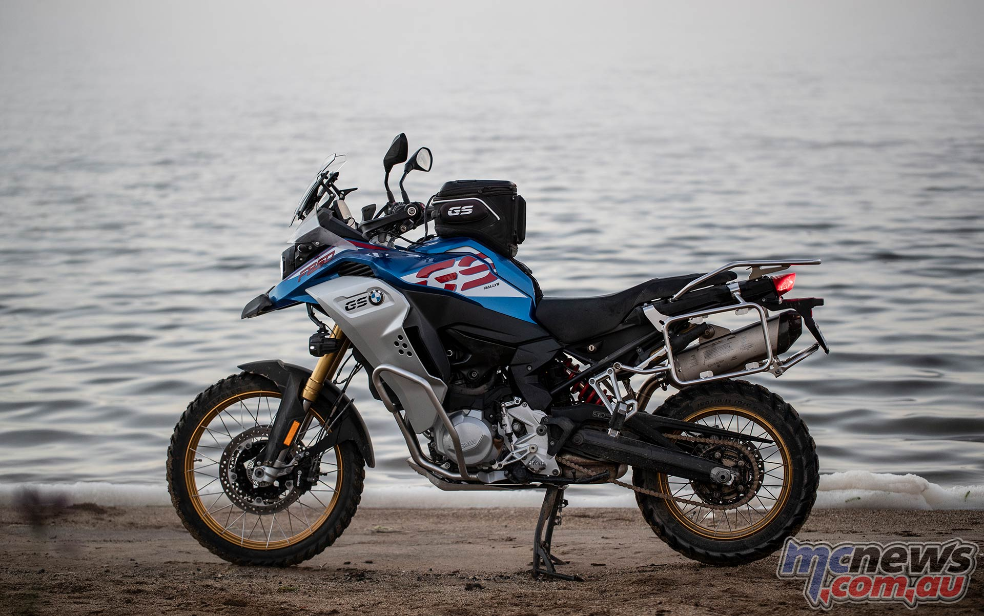 BMW F GS Adventure Blue LHS