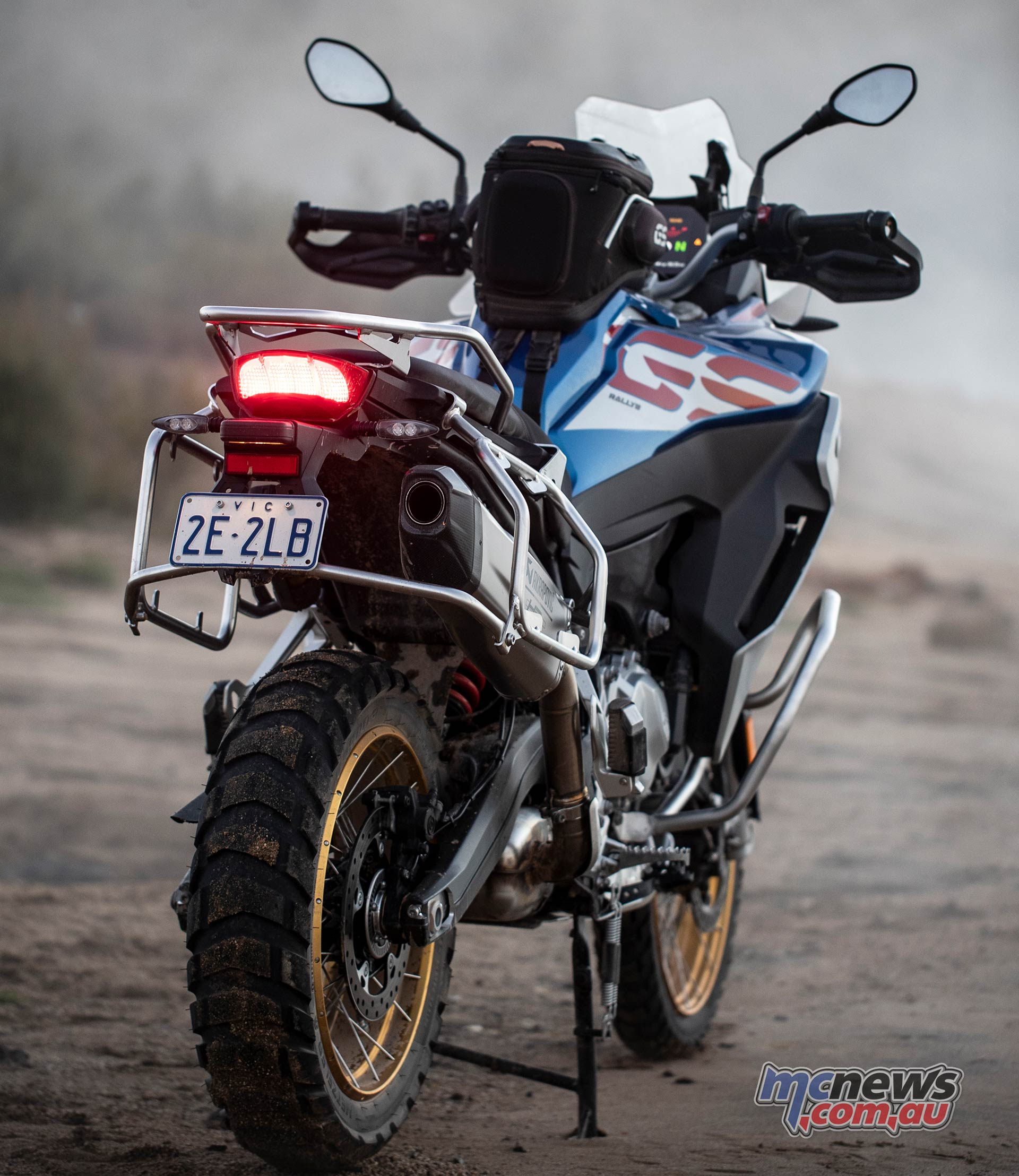 BMW F GS Adventure Blue RHRR