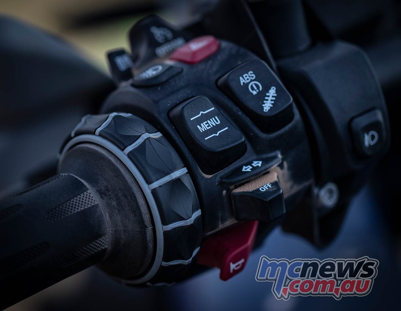 BMW F GS Adventure Controls Left