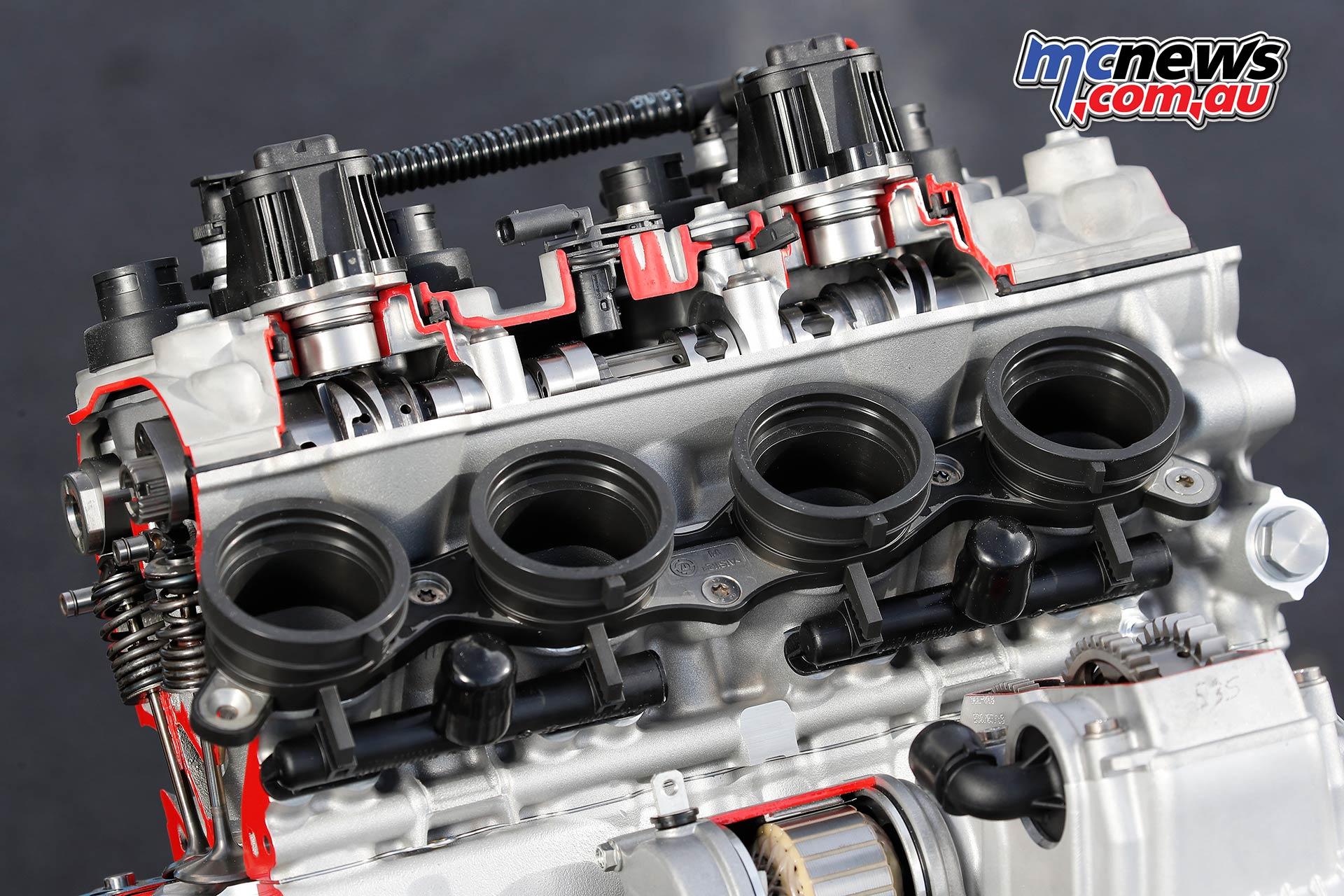 BMW SRR Engine Cutaway Details
