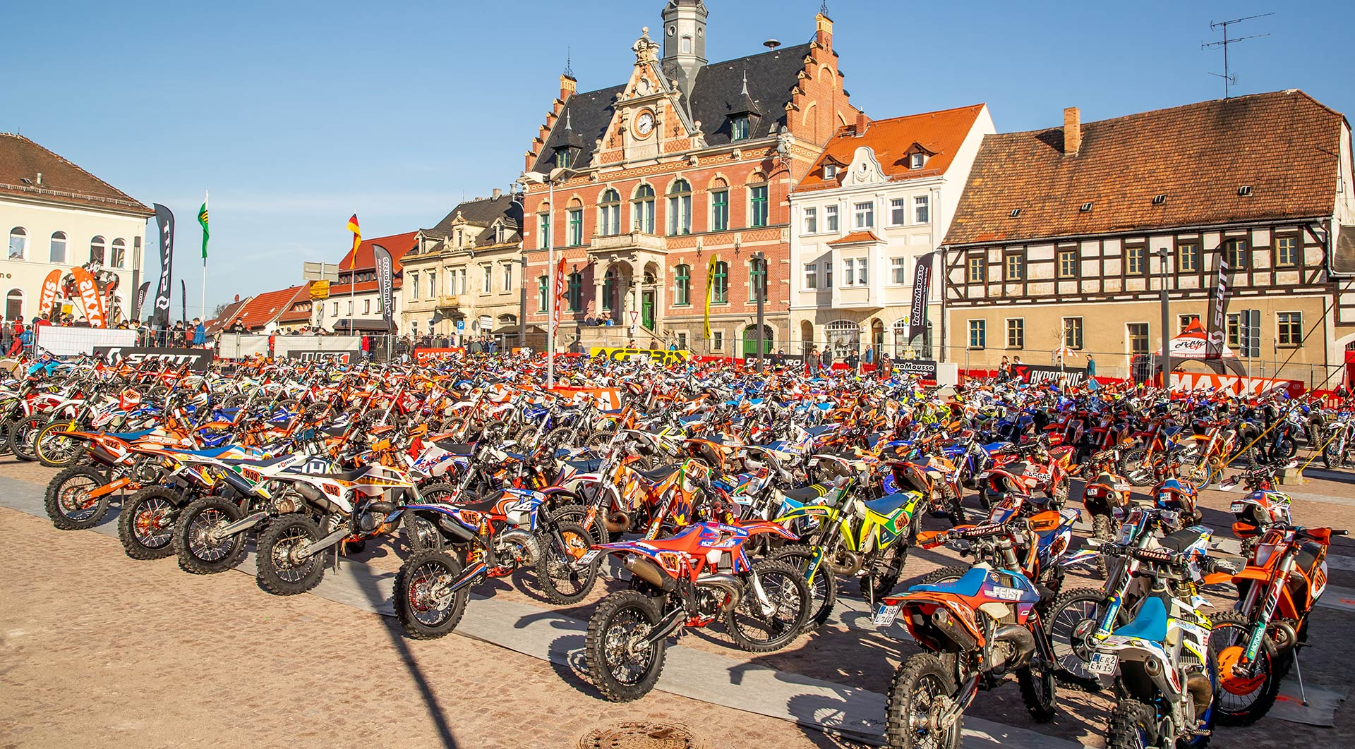 EnduroGP Rnd Bikes Town
