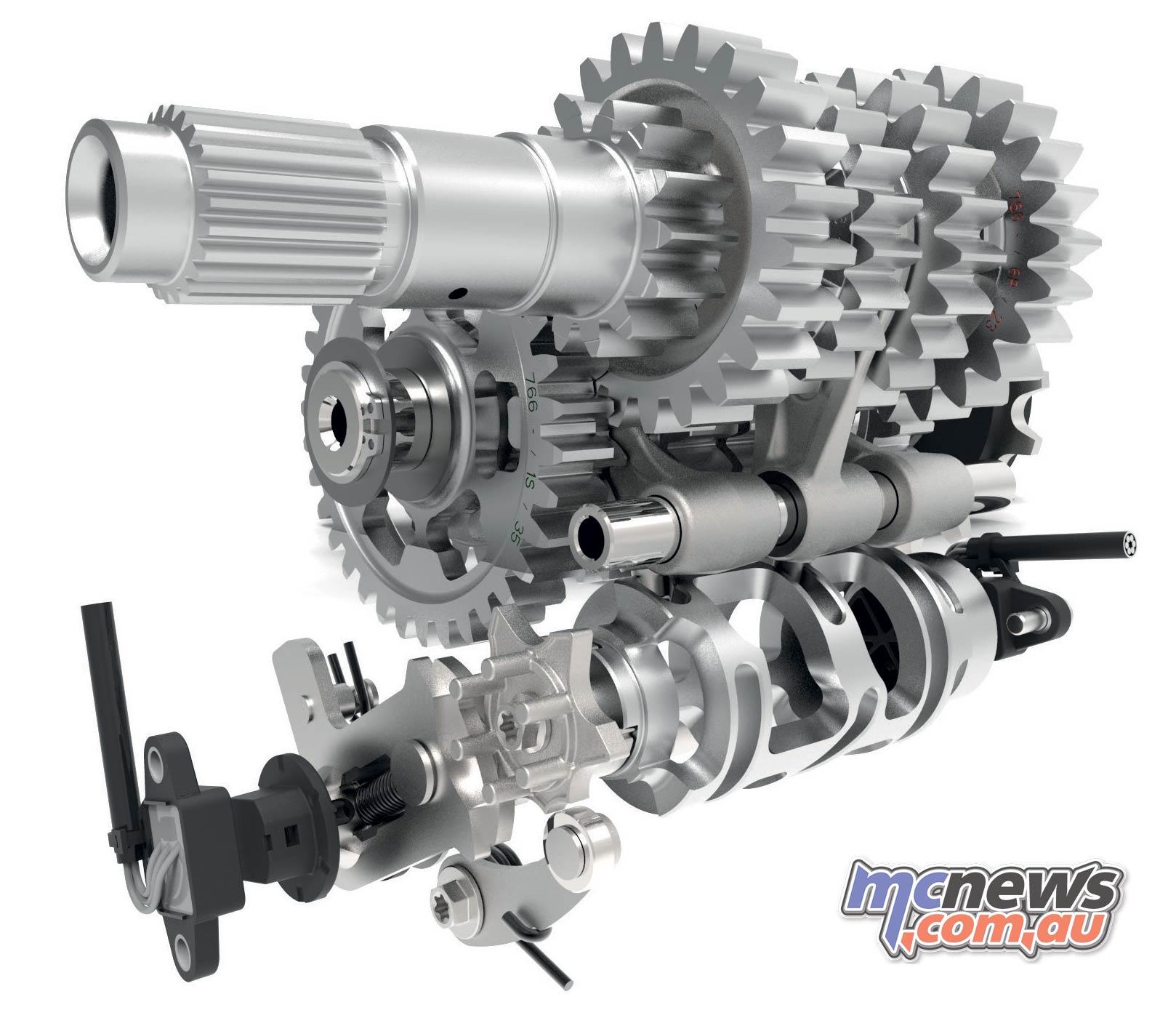 KTM Enduro R Gearbox