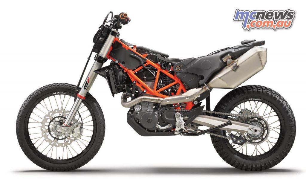 KTM Enduro R LHS Stripped